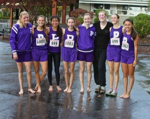 Nov 17, the women's cross-country team placed 9th in CA Div. IV. (Daniella Mohazab)