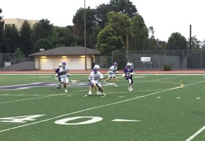 After a 17-15 win against Saint Mary's in their first NCS game, the men's team played Moreau Catholic on May 13.