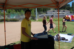 Princeton Liu, senior: It's an amazing experience deejaying. I love seeing all the people around me dancing. All those people who just put their hands up for me, it's just great.